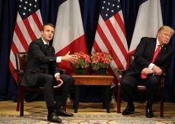 Dîner Trump/Macron fin avril dans la demeure historique de George Washington