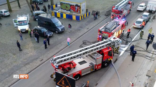 Gros dégagement de fumée ce matin à Anderlecht: rien de grave