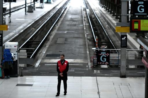 Grève SNCF: un TGV sur cinq, un TER et un Transilien sur trois dimanche