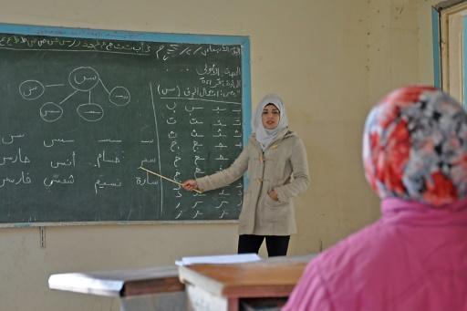 Dans un village syrien libéré de l'EI, la joie de retrouver l'école