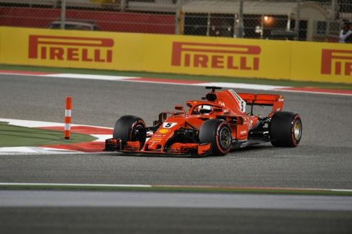 GP de Bahreïn: Vettel (Ferrari) s'impose, Hamilton (Mercedes) 3e