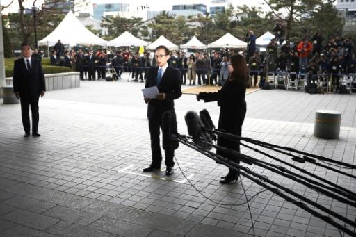 L'ex-président sud-coréen inculpé pour corruption