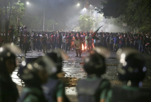 Bangladesh: une centaine de blessés dans une grande manifestation étudiante