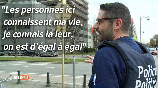 Jean-François nous fait découvrir son travail d'agent de quartier: