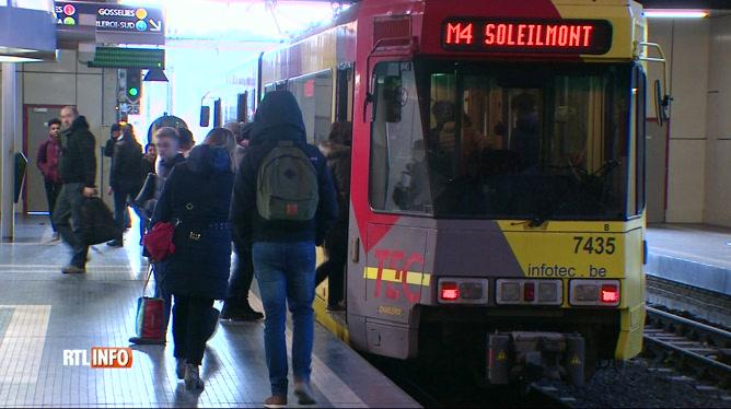 A Charleroi, un métro déraille à la station