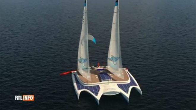 Le navigateur Yvan Bourgnon veut nettoyer les océans grâce à un bateau révolutionnaire: le Manta
