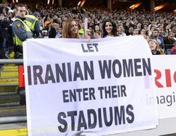 Un village iranien encourage les femmes à assister aux matches de foot