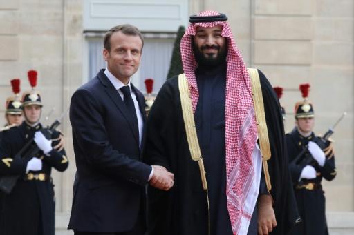 Yémen, Syrie et Iran au menu d'une rencontre entre le prince héritier saoudien et Macron