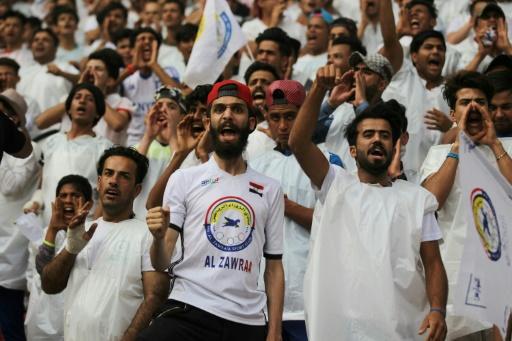Foot: pour le premier match officiel à domicile, le public irakien au rendez-vous
