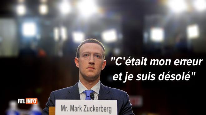 Audition hors-norme au Sénat américain: Mark Zuckerberg s'explique sur le scandale qui frappe Facebook