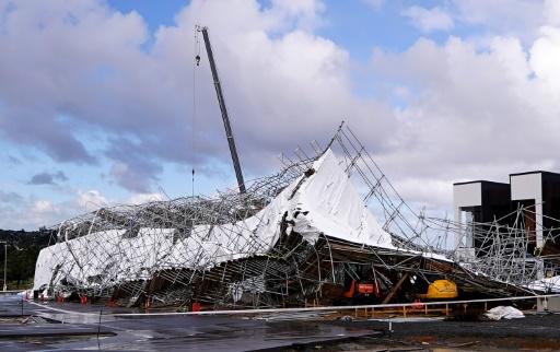 Tempête à Auckland: un quart des foyers privés d'électricité