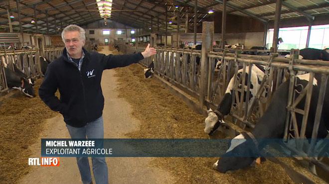 Un éleveur d'Hamois produit l'électricité de sa ferme à partir de la bouse de ses vaches: