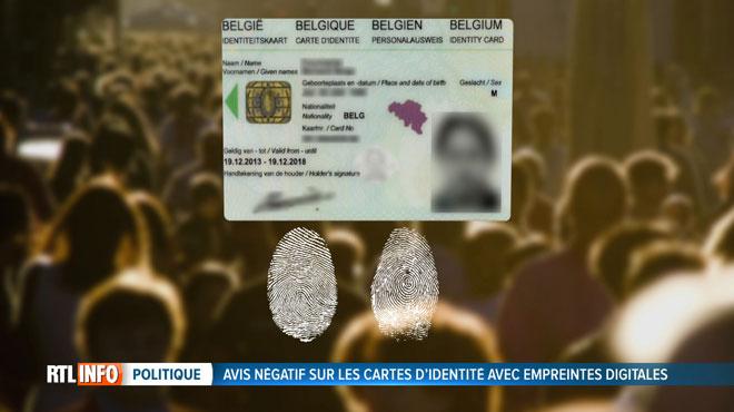 Devrez-vous bientôt donner vos empreintes digitales pour obtenir une carte d'identité?