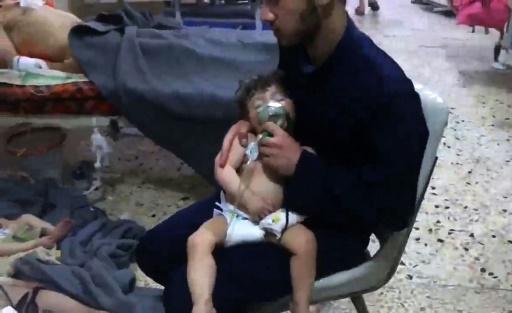 Syrie: de l'attaque chimique présumée aux menaces de frappes imminentes