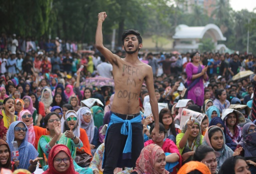 Bangladesh: les étudiants suspendent les manifestations antiquotas