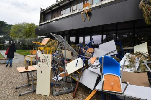 Montpellier: vive tension à Paul Valéry après deux mois de blocage et un