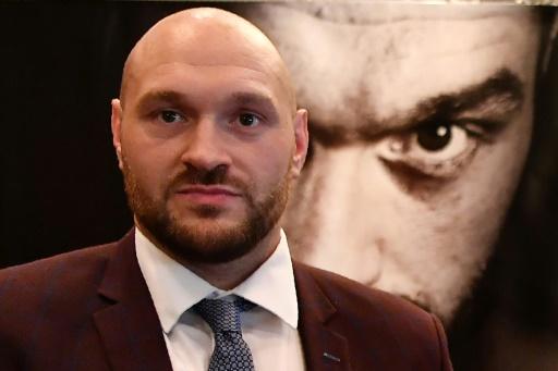 Boxe: retour prévu en juin pour Tyson Fury