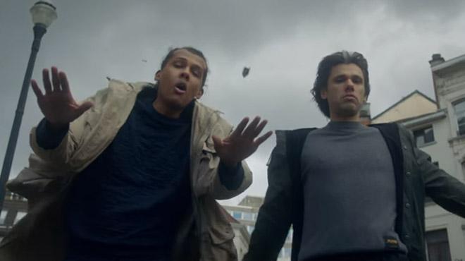 Leur clip La pluie nous ramène le soleil — Orelsan et Stromae