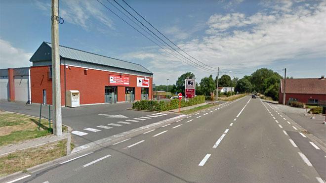 Le Proxy Delhaize de Flobecq s'est fait braquer: le voleur a pris la fuite à pied