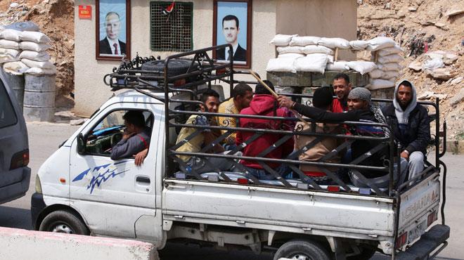 La Russie offre une nouvelle victoire à Bachar al-Assad en Syrie: les rebelles quittent un bastion très important