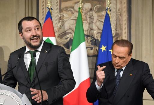 Italie: Berlusconi toujours en travers d'une alliance M5S/Ligue
