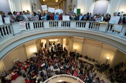 USA: les enseignants de l'Oklahoma mettent fin à leur grève massive