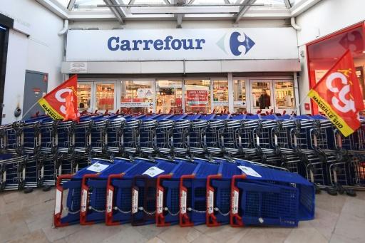 Chez Carrefour, accalmie après une grève historique
