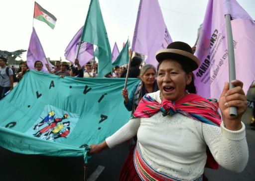 Sans Trump, les dirigeants du continent américain réunis à Lima