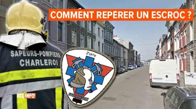Marc démasque un démarcheur qui se faisait passer pour un pompier à Charleroi: