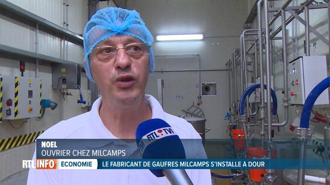 Après l'incendie à Forest, l'entreprise de gaufres Milcamps délocalise son activité à Dour: