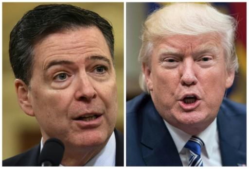 Trump traite Comey, l'ex-directeur du FBI qu'il a limogé, de