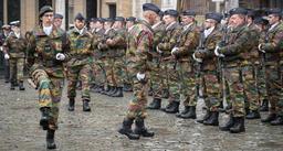 La réserve opérationnelle de la Défense dans les rues de Bruxelles depuis quelques jours