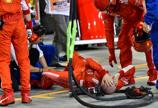 F1: un problème de capteur à l'origine de l'incident de Bahreïn, selon Ferrari
