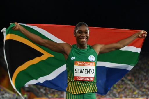 Jeux du Commonwealth: doublé pour Semenya, avec l'or au 800 m
