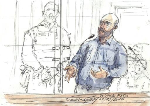 Aurélie Fouquet: Redoine Faïd condamné en appel à 25 ans de réclusion criminelle