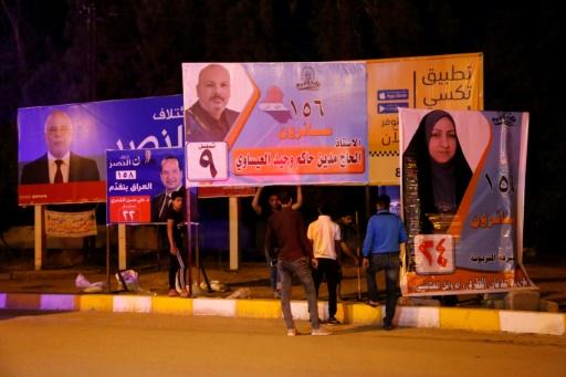Irak/élections: Remplacer les posters des