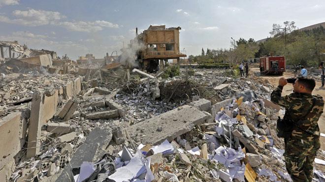La Russie voudrait que l'ONU condamne les frappes en Syrie