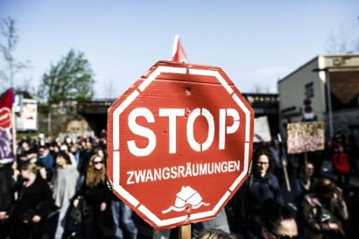 Allemagne: manifestation à Berlin contre