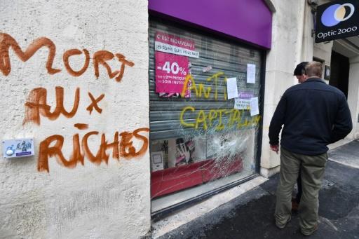 Une manifestation contre le gouvernement dégénère à Montpellier, 51 interpellations