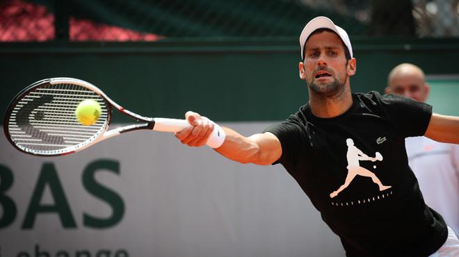 Du neuf avec du vieux pour Novak Djokovic