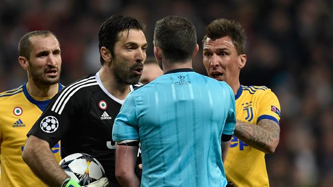 Buffon ne retire pas ses critiques sur l'arbitre de Real-Juventus: