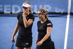 WTA Lugano - Elise Mertens et Kirsten Flipkens s'imposent en double