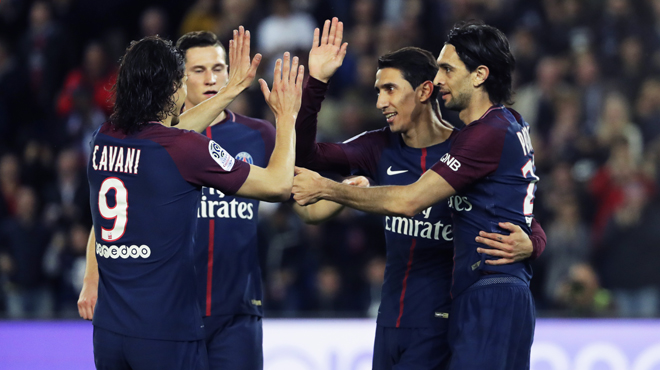 Le PSG récupère son titre de champion de France en écrasant Monaco