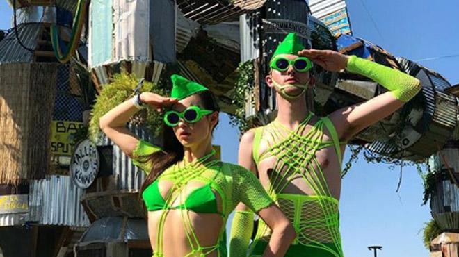 Un vrai défilé de mode offert par les festivaliers de Coachella: