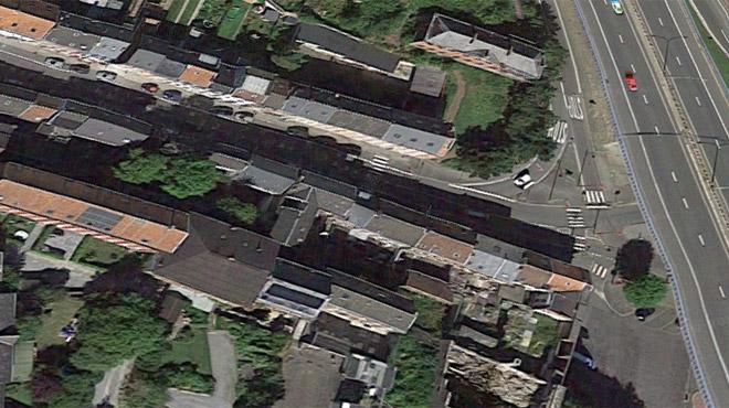 Le fait du jour de la police de Vesdre: il percute la quasi totalité des panneaux de chantier avec son Alfa