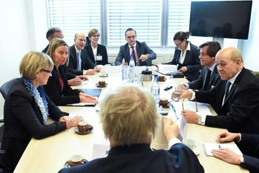 Nucléaire iranien: les Européens partagés sur de nouvelles sanctions