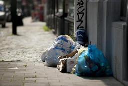 Plus de 80% des déchets triés dans les sacs bleus sont recyclés en Belgique