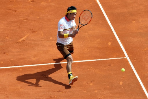 Tennis: Nishikori renverse Berdych au Masters 1000 de Monte-Carlo