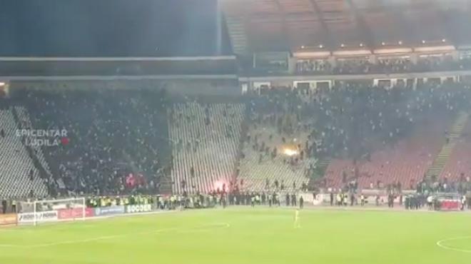 Honte en Serbie: le derby