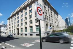 Une généralisation de la zone 30 des voiries communales à Bruxelles n'est pas proche